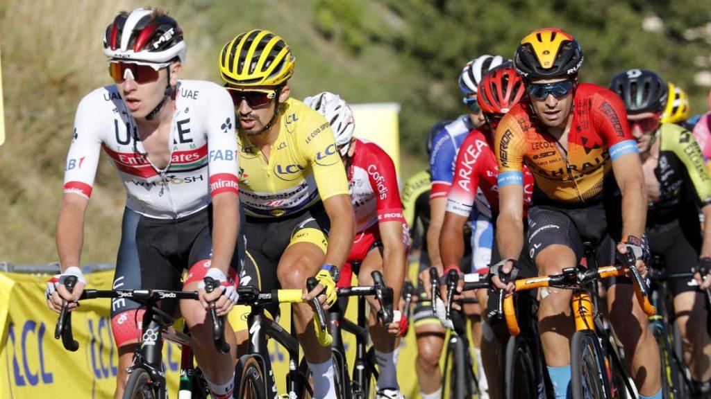 Españoles en el Tour de France 2020.