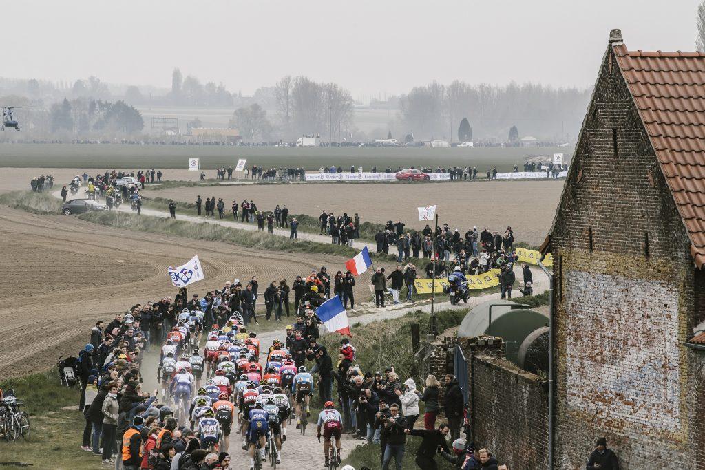 Imagen de archivo de la Paris-Roubaix 2020
