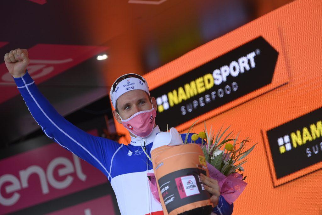 arnaud démare gana la cuarta etapa del giro de italia 2020