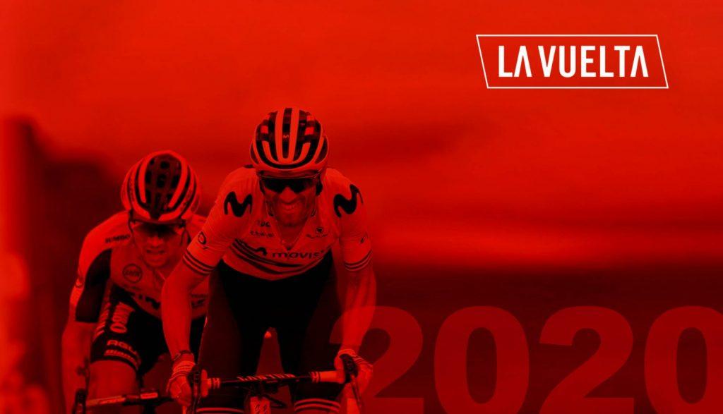Cartel de portada de La Vuelta 2020