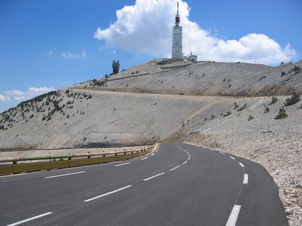 "Mont Ventoux provenza francia ladera sur ruta - La historia del ""GIGANTE de la Provenza"""