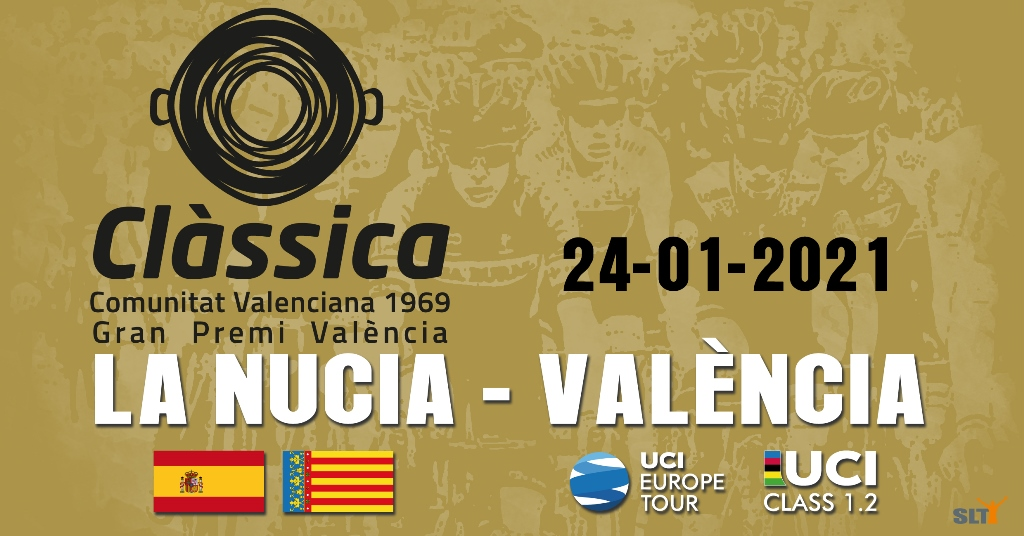 Cartel de presentación de La Classica Comunitat Valenciana