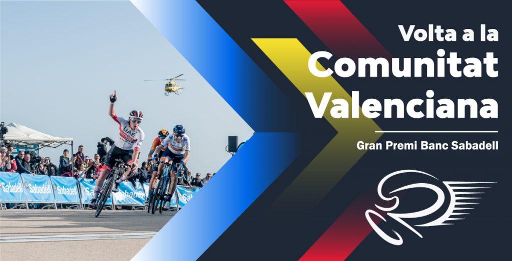 Cartel de portada de la Volta a la Comunitat Valenciana