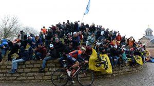 Ivan García Cortina en el Tour de Flandes