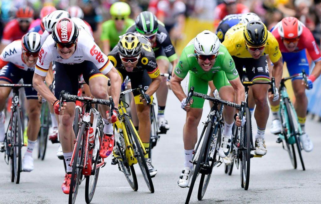 Sprint en el Tour de Francia