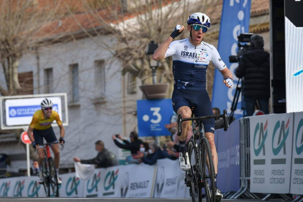 Mike Woods Tour des Alpes Maritimes Var Sirotti  1024x682 - Tour des Alpes Maritimes et du Var 2021: Una carrera en segundos para Brambilla