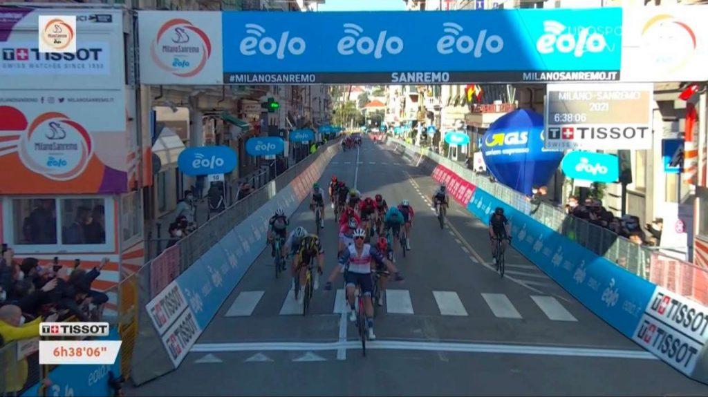 Milano San Remo 2021 para Jasper Stuyven