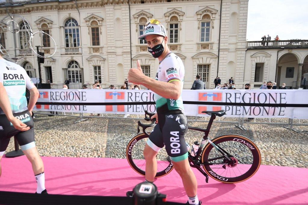 Peter Sagan en la presentación del Giro 2021