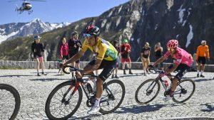 Richard Carapaz en la Vuelta a Suiza