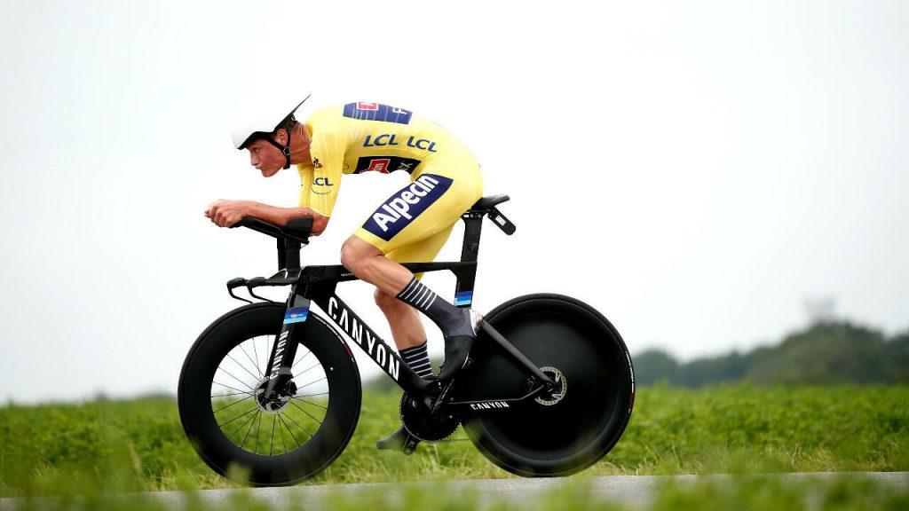 ITT Contrarreloj Tour de Francia Mathieu van der Poel 1024x576 - Un inolvidable Tour