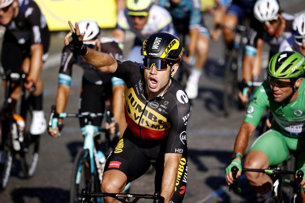 Wout van Aert sprint Paris Campos Eliseos Tour de Francia 2021 1024x682 - Un inolvidable Tour