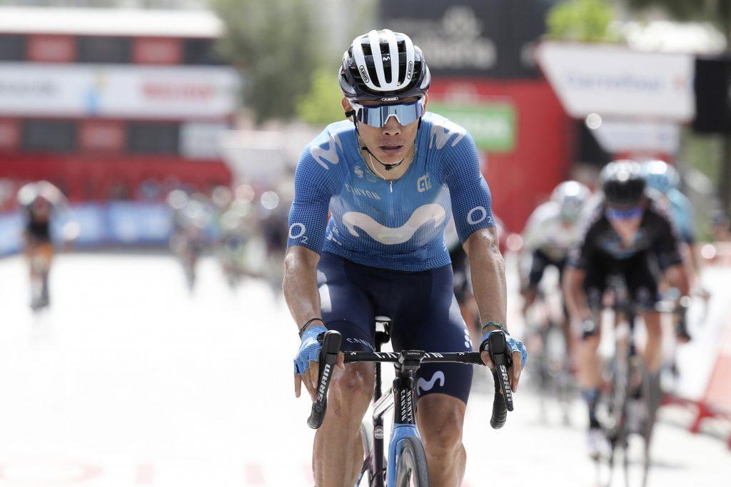 Miguel Angel Lopez en meta Vuelta a Espana 2021 1024x682 - La desolación de Miguel Ángel López