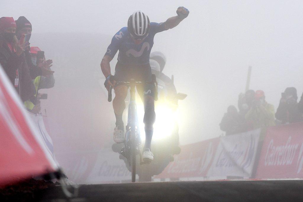Miguel Angel Superman Lopez Movistar Astana fichaje despedido retiro Vuelta España 2021 colombiano salud mental - La desolación de Miguel Ángel López