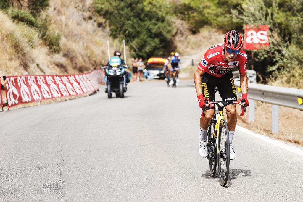 Primoz Roglic Ataque en La Vuelta a España 2021 1024x683 - El indomable Primož Roglič